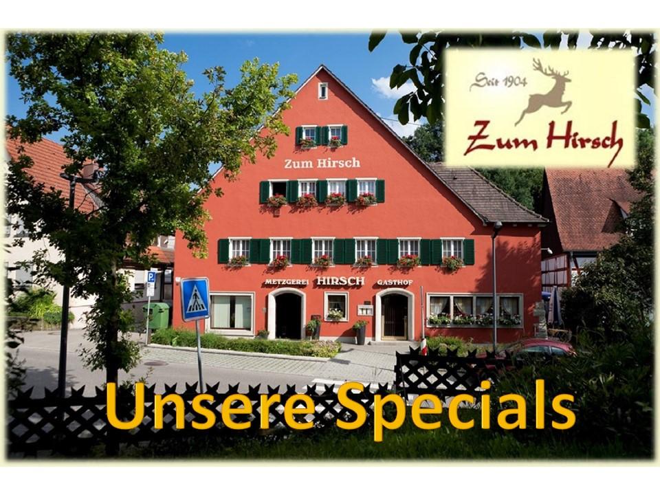 Hotel Gasthaus Hirsch Hessental Schwäbisch Hall