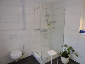 Dusche, Doppelzimmer, zum-hirsch-hotel.de, Hotel Hessental Schwäbisch Hall
