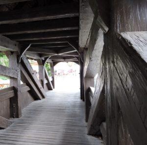 Holzbrücke, Schwäbisch Hall, zum-hirsch-hotel.de
