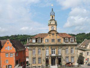 Rathaus Schwäbisch Hall, Ausflug, zum-hirsch-hotel.de, Hotel Schwäbisch Hall Hessental