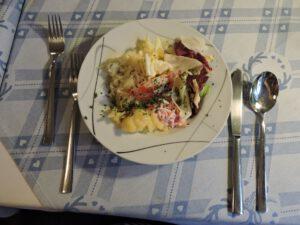Salat, Restaurant Zum Hirsch, Schwäbisch Hall, Hessental