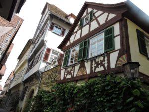 Schwäbisch Hall, Fachwerkhäuser, Altstadt, zum-hirsch-hotel.de