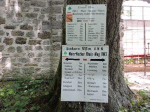 Wanderwege und Steige vom Einkorn, Hohenlohe, zum-hirsch-hotel.de